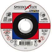 Speedoflex doorslijpschijf SP A24/30S 115x2x22.2 BF41 grof