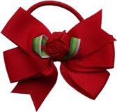 Jessidress Haar elastiekje met elegante strik - Rood