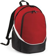 Quadra Pro Team Backpack QS255 Zwart-Rood-Wit