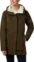 Columbia South Canyon Sherpa Lined Jacket Dames Outdoorjas - Olive Green - M
