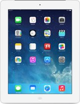Apple iPad 4 Retina - 16GB - WiFi + Cellular (4G) - Wit/Zilver