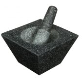 Kitchencraft Vierkante granieten vijzel Masterclass