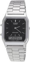 CASIO - AQ-230A-1DMQYES - Horloge - Staal - Zilverkleurig - 29 * 39 mm