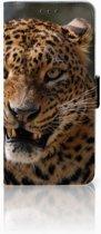 Samsung Galaxy S10 Plus Uniek Boekhoesje Luipaard