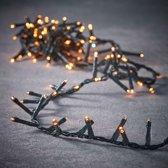 Luca Lighting kerstverlichting lichtsnoer ook voor buiten 700 lampjes extrawarm wit timer met flashfunctie 1400 cm premium