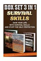 Survival Skills Box Set 3 in 1