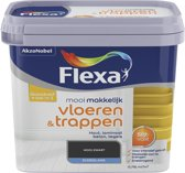 Flexa Mooi Makkelijk - Vloeren en Trappen - Mooi Zwart - 750 ml