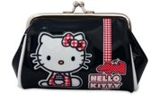 Hello Kitty knipportemonnee blauw