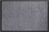 Hamat Deurmat Twister grijs 60x80cm