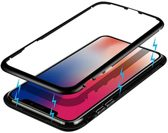 2e Generatie - Magnetic - Hoesje - iPhone X & XS  - Met 9H glas achterkant.