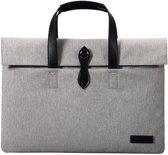 Cartinoe - canvas fashion laptoptas 15 - grijs