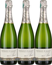 Domaine Dirler-Cadé Crémant d'Alsace blanc - 2015 - 3 x 75 cl