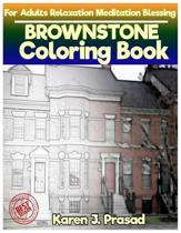 BROWNSTONE Coloring book for Adults Relaxation Meditation Blessing