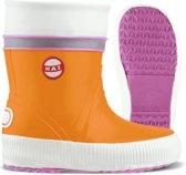 Nokian Footwear - Rubberlaarzen -Hai Kids- (Kids) oranje tricolore, maat 35