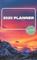 2020 Planner For Purse: January 2020 - December 2020 - Monthly Dated With Year At A Glance and Notes Pages (Gift Calendar) (Volcano)