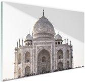 FotoCadeau.nl - Taj Mahal India Glas 30x20 cm - Foto print op Glas (Plexiglas wanddecoratie)