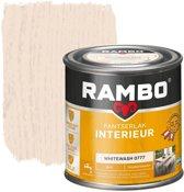 Rambo Pantserlak Interieur Transparant Mat Whitewash 0777-0,75 Ltr