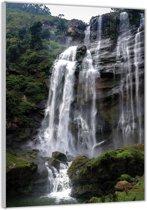Plexiglas –Waterval– 80x120cm (Wanddecoratie op Plexiglas)