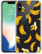 Apple iPhone Xs Hoesje Banana
