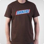 Suckers Fun T-shirt Maat XL