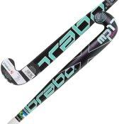 Brabo HockeystickJongens zwart groen wit