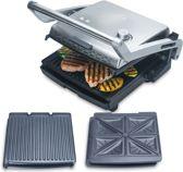 Solis Grill & More 7952 Contactgrill RVS - Incl. toastplaten