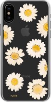 Flavr iPlate Real Flower Daisy iPhone X