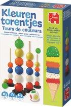 Afbeelding van Kleurentorentjes Kinderspel Kleuren Leren speelgoed