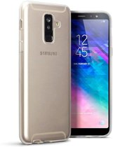 Samsung Galaxy A6+ 2018 hoesje - CaseBoutique - Transparant - TPU