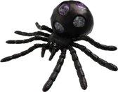 Jonotoys Stressbal Spin 15 Cm Zwart/paars