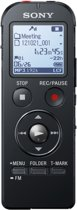 Sony ICD-UX533B - 3-in-1 Stereovoicerecorder - 4 GB - Zwart