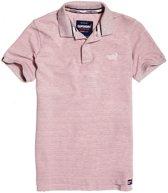 Superdry Poloshirt - Maat XL  - Mannen - licht roze