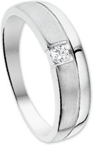The Jewelry Collection Ring Diamant 0.07ct H Si - Witgoud