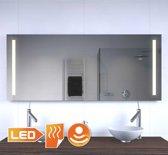 Badkamer LED spiegel met verwarming en sensor 140x60 cm