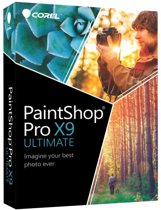 Corel PaintShop Pro X9 - 19 - Ultimate - Nederlands / Engels / Frans - Windows