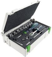 ratelsleutels 1/4inch-CE RA-Set 37d Festool 497881