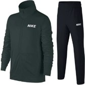 Nike Trainingspak - Maat L  - Unisex - grijs/groen/ zwart