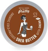 Organic Cold Pressed Shea Butter met Cacao - 90 gram