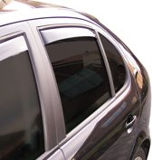 ClimAir Zijwindschermen Master Dark (achter) Honda Accord sedan 2008-