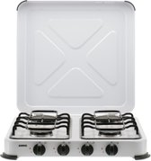 Gimeg kooktoestel 4-pits wit beveiligd