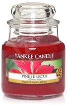 Yankee Candle Medium Jar - Pink Hibiscus