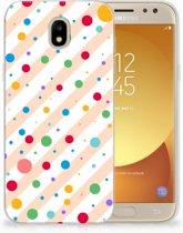 Samsung Galaxy J5 2017 TPU Hoesje Design Dots