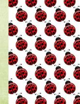 Lovely Ladybugs 100 Pages 8.5 X 11 Journal Notebook
