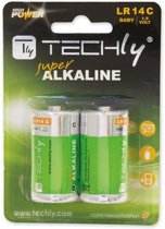 Techly LR14 C 1.5V Single-use battery Alkaline 1,5 V
