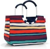 Reisenthel Loopshopper L Boodschappentas - Shopper - Maat L - Polyester - 25L - Artist Stripes Blauw