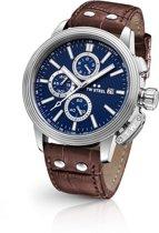 TW Steel CEO Adesso CE7010 - horloge - heren - zilverkleurig - ⍉48 - chrono