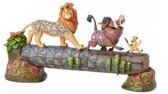 Disney beeld - Traditions collectie  - Carefree Camaraderie - The Lion King