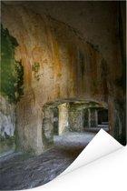 Prachtige gangen in het Citadelle Laferrière Poster 40x60 cm - Foto print op Poster (wanddecoratie woonkamer / slaapkamer)
