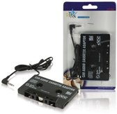 HQ Auto cassette adapter met 3,5mm Jack connector / zwart