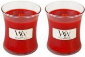 WoodWick® Mini Candle Currant 2 stuks